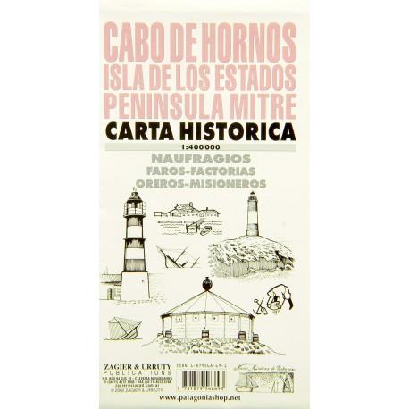 CABO DE HORNOS MAP