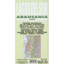 LAGOS DEL SUR / ARAUCANIA MAP