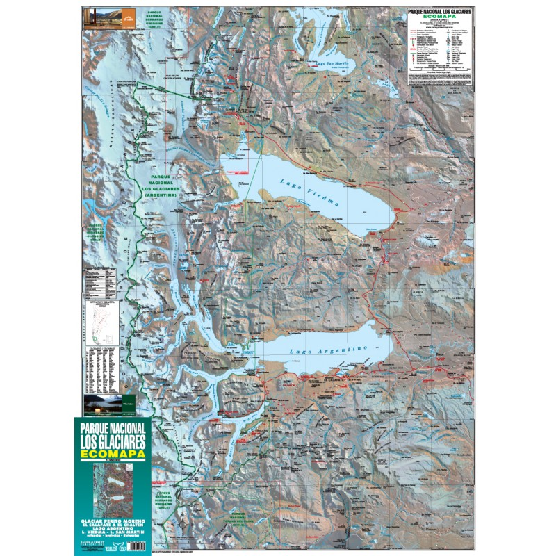 LOS GLACIARES NATIONAL PARK MAP - ZAGIER AND URRUTY ...