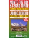 MONTE FITZ ROY & CERRO TORRE MAP
