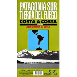 PATAGONIA SUR & TIERRA DEL FUEGO MAP