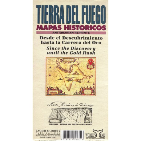TIERRA DEL FUEGO HISTORICAL MAP