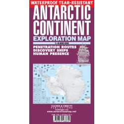 ANTARCTIC CONTINENT MAP