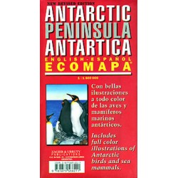 ANTARCTIC PENINSULA MAP