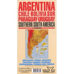 ARGENTINA & SURROUNDINGS MAP