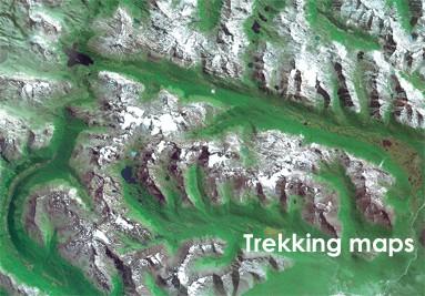 Mapas de trekking